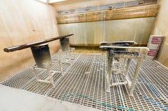 Деревянное машинное оборудование работы Оборудование в промышленной среде Стоковые Изображения RF