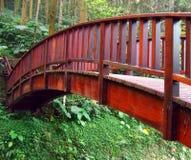 деревянное моста старое Стоковые Изображения RF