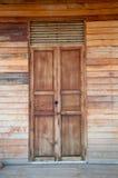 Деревянное окно Стоковое фото RF