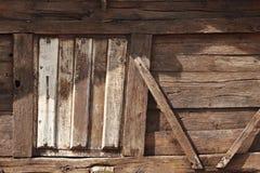 Деревянное окно Стоковая Фотография