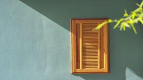 Деревянное окно Стоковые Фото