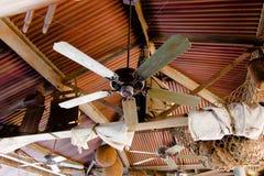 Деревянное оформление потолка Стоковое Изображение