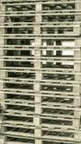 Деревянное перекрытие паллета Стоковое фото RF