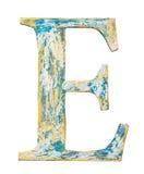 Деревянное письмо алфавита Стоковое фото RF