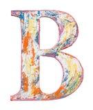 Деревянное письмо алфавита Стоковые Фотографии RF