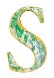 Деревянное письмо алфавита Стоковая Фотография RF