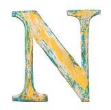 Деревянное письмо алфавита Стоковое Фото