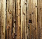 деревянное плакирования старое текстурированное Стоковые Фото