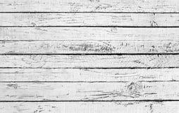 деревянное планки белое Стоковая Фотография RF