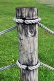 деревянное полюса короткое Стоковые Изображения
