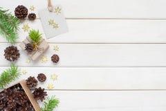 деревянное предпосылки белое Стоковые Изображения