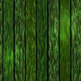 деревянное предпосылки зеленое Стоковое Изображение RF