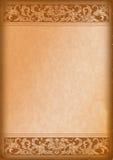 деревянное предпосылки орнаментальное Стоковая Фотография