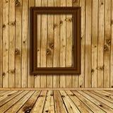 деревянное пустых рамок нутряное Стоковое Фото