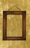 деревянное рамки grungy Стоковая Фотография