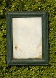 деревянное рамки grungy стоковое изображение