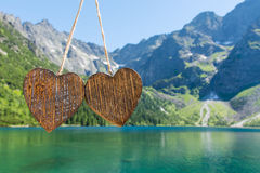 Деревянное сердце 2 Стоковая Фотография RF