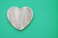 Деревянное сердце Стоковые Фотографии RF