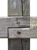 Деревянное соединение Стоковые Изображения RF