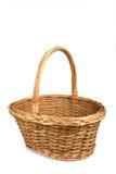 деревянное сплетенное корзиной Стоковая Фотография