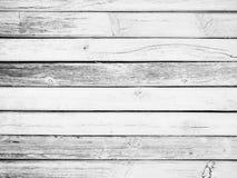 деревянное старых планок белое Стоковая Фотография RF