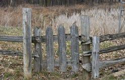 деревянное строба старое Стоковые Изображения RF