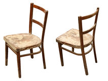 деревянное стула старое Стоковая Фотография
