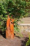 Деревянное украшение сада Стоковое фото RF