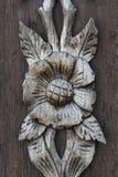 Деревянное украшение Стоковые Изображения