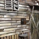 Деревянное украшение Стоковое Изображение RF