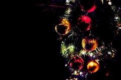 деревянное украшений рождества экологическое Рождественская ярмарка ` s Эдинбурга, принцы Str стоковые фотографии rf
