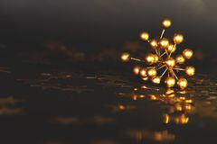 деревянное украшений рождества экологическое скопируйте космос стоковое фото