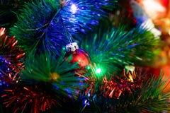 деревянное украшений рождества экологическое Стоковое фото RF