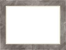 деревянное фото рамки ретро Стоковое Изображение