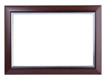 Деревянное фото рамки Стоковые Изображения RF