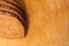 деревянное хлеба доски отрезанное вырезыванием Стоковые Изображения