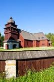деревянное церков перекрестное святейшее Стоковая Фотография RF
