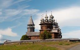 деревянное церков старое Стоковые Фотографии RF
