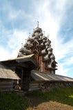 деревянное церков старое Стоковая Фотография