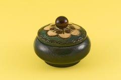 деревянное шара декоративное малое стоковая фотография rf