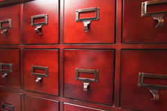 деревянное шкафа lustrous стоковые фотографии rf