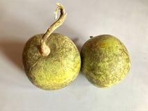 Деревянное яблоко Стоковое Изображение