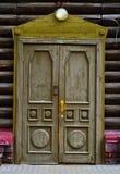 Деревянное architechture Сибиря Стоковая Фотография