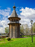 Деревянное bellfry Стоковое Фото