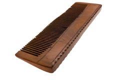 деревянное hairbrush старое Стоковое Изображение