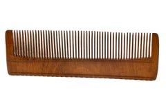 деревянное hairbrush старое Стоковая Фотография RF