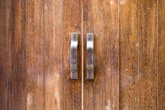 Деревянное texrure двери Стоковое Фото