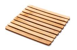 Деревянное Trivet Стоковое Изображение RF