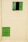 Деревянное Windows Стоковые Фото