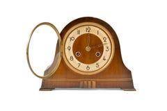Античные часы таблицы Стоковая Фотография